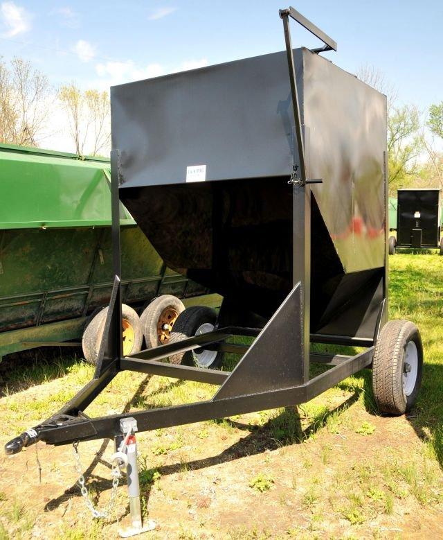 Portable Feed Storage Bins : Bartlett co op