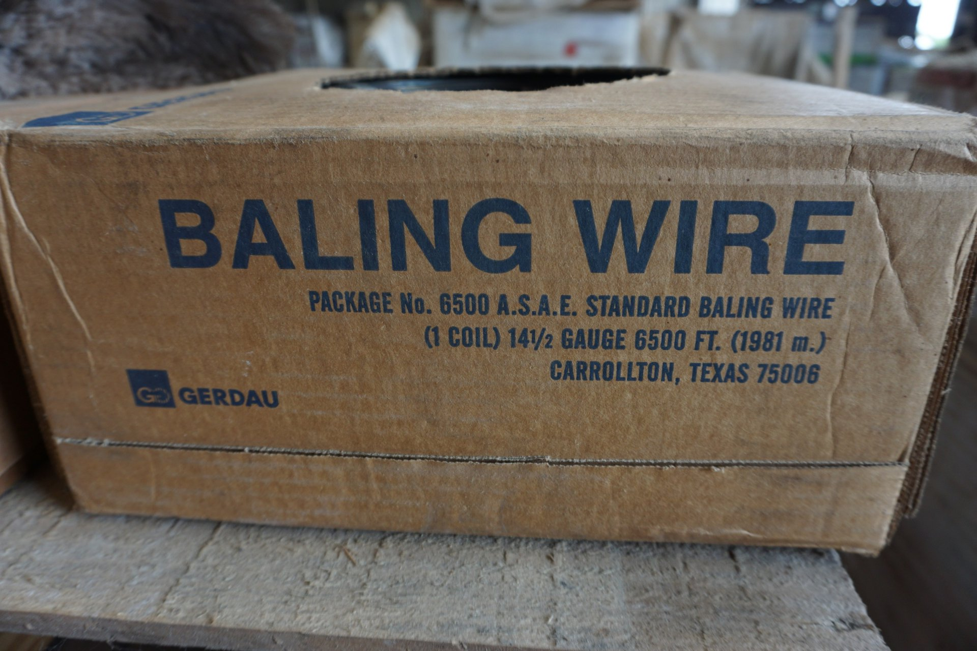 Baling Wire Product : Bartlett co op